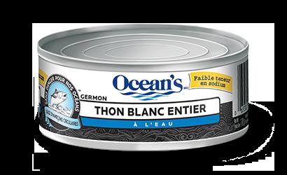 Thon blanc entier – à faible teneur de sodium