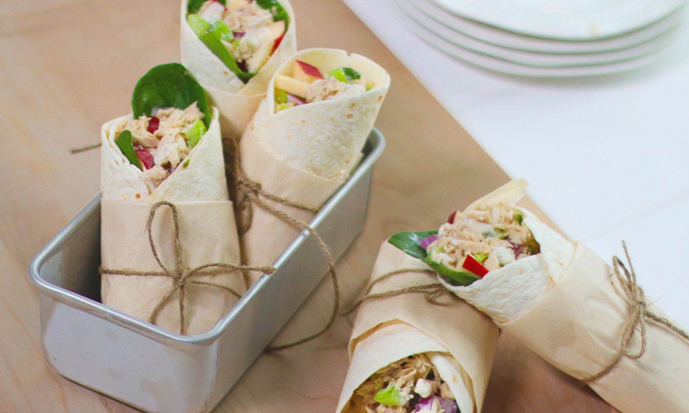 West Coast Tuna Wrap