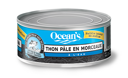 Thon pâle en morceaux – À faible teneur de sodium