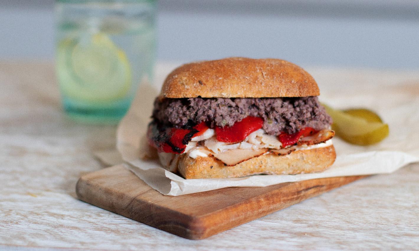 Sandwich à la tapenade de thon