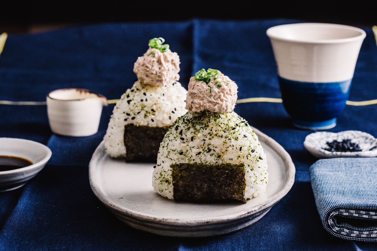 Onigiri à la salade de thon