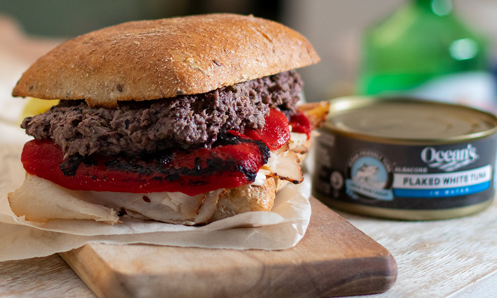 OC Tuna Tapenade Sandwich 1
