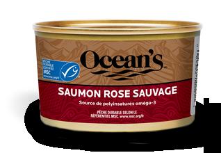 Saumon rose sauvage