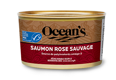 Saumon rose sauvage