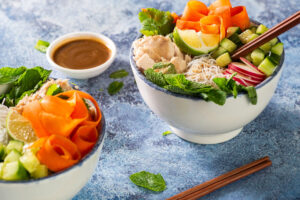 2 bowls of Ocean's Asian Tuna Salad