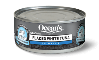 Canned Flaked White Albacore Tuna