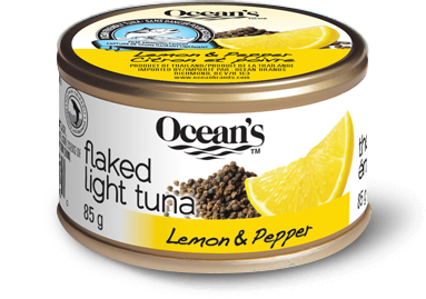 Flaked Light Tuna – Lemon & Pepper