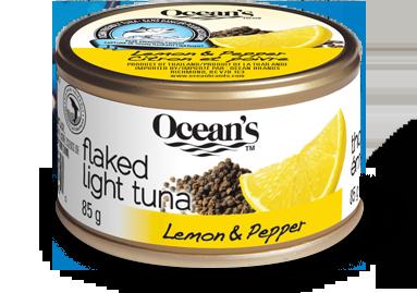 淡金枪鱼(片状) 柠檬胡椒