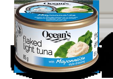 oceans flavoured light tuna mayo 1