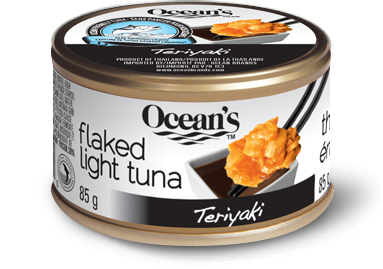 Flaked Light Tuna – Teriyaki