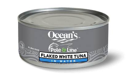 Pole & Line Solid and Flaked White Albacore Tuna