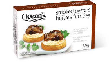 One can of Ocean's Smoked Oysters
