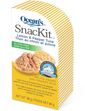 Lemon & Pepper Tuna SnacKit™: Gluten Free