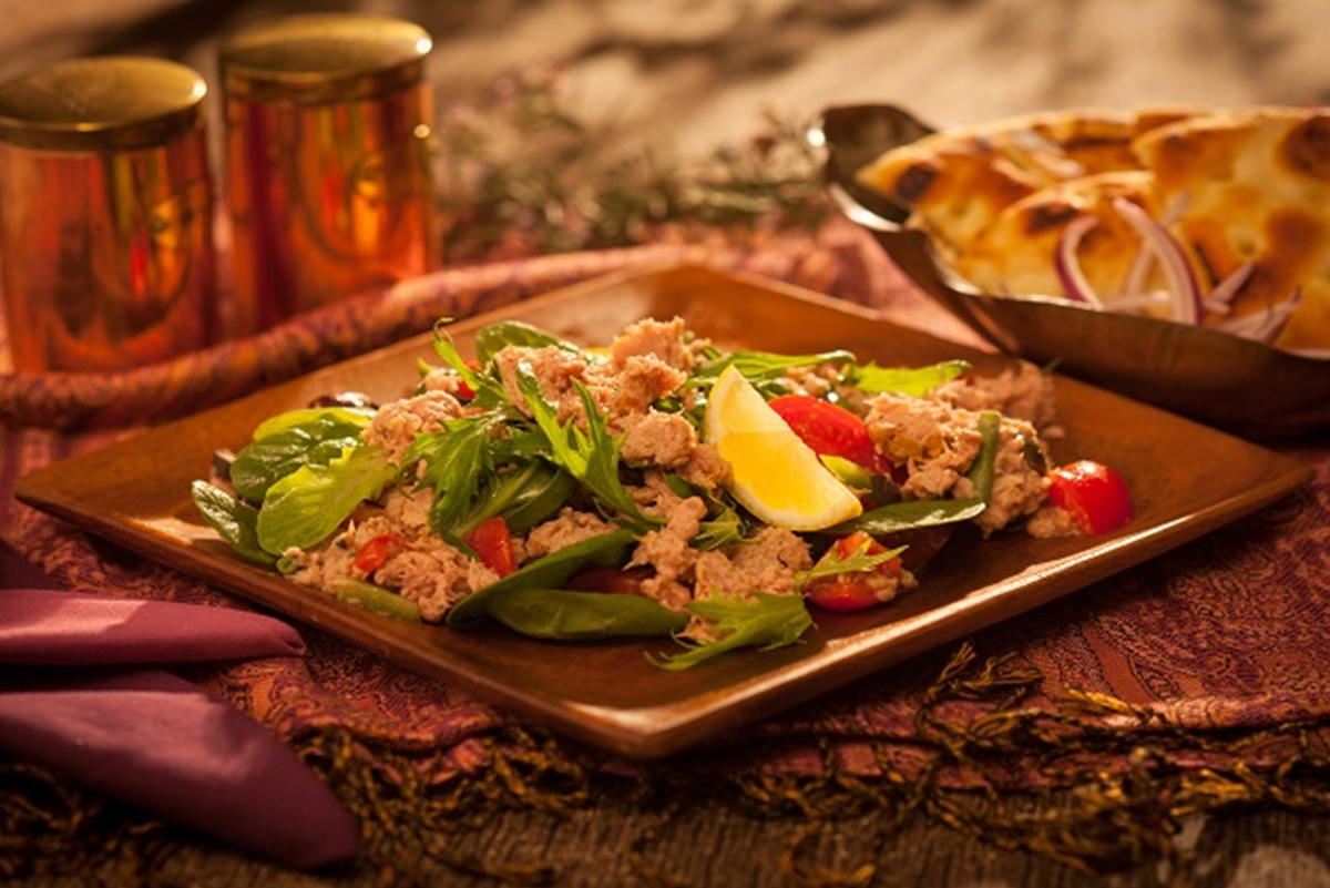 Salade de thon fumé