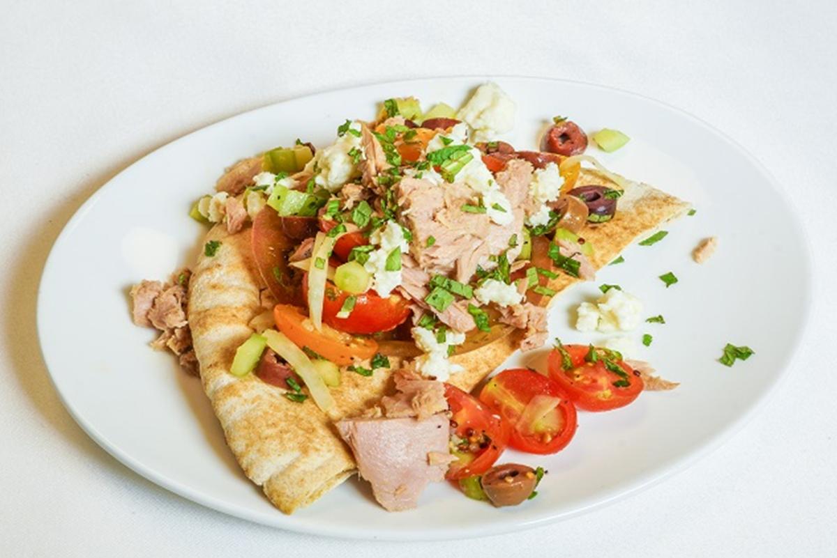 Salade de thon printanière