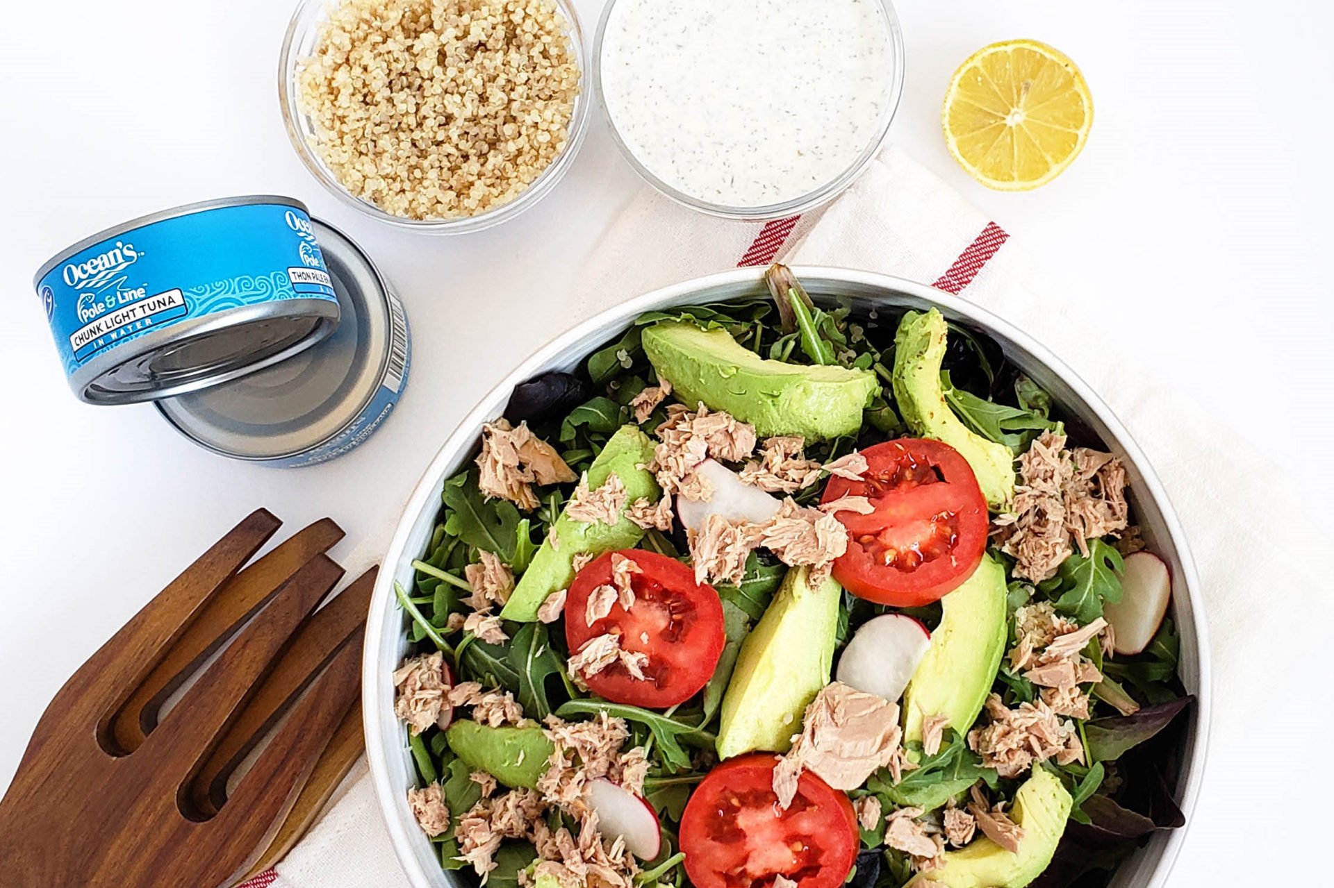 Zesty Tuna Quinoa Salad
