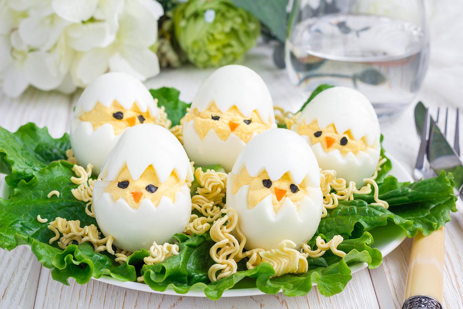 小鸡复活蛋