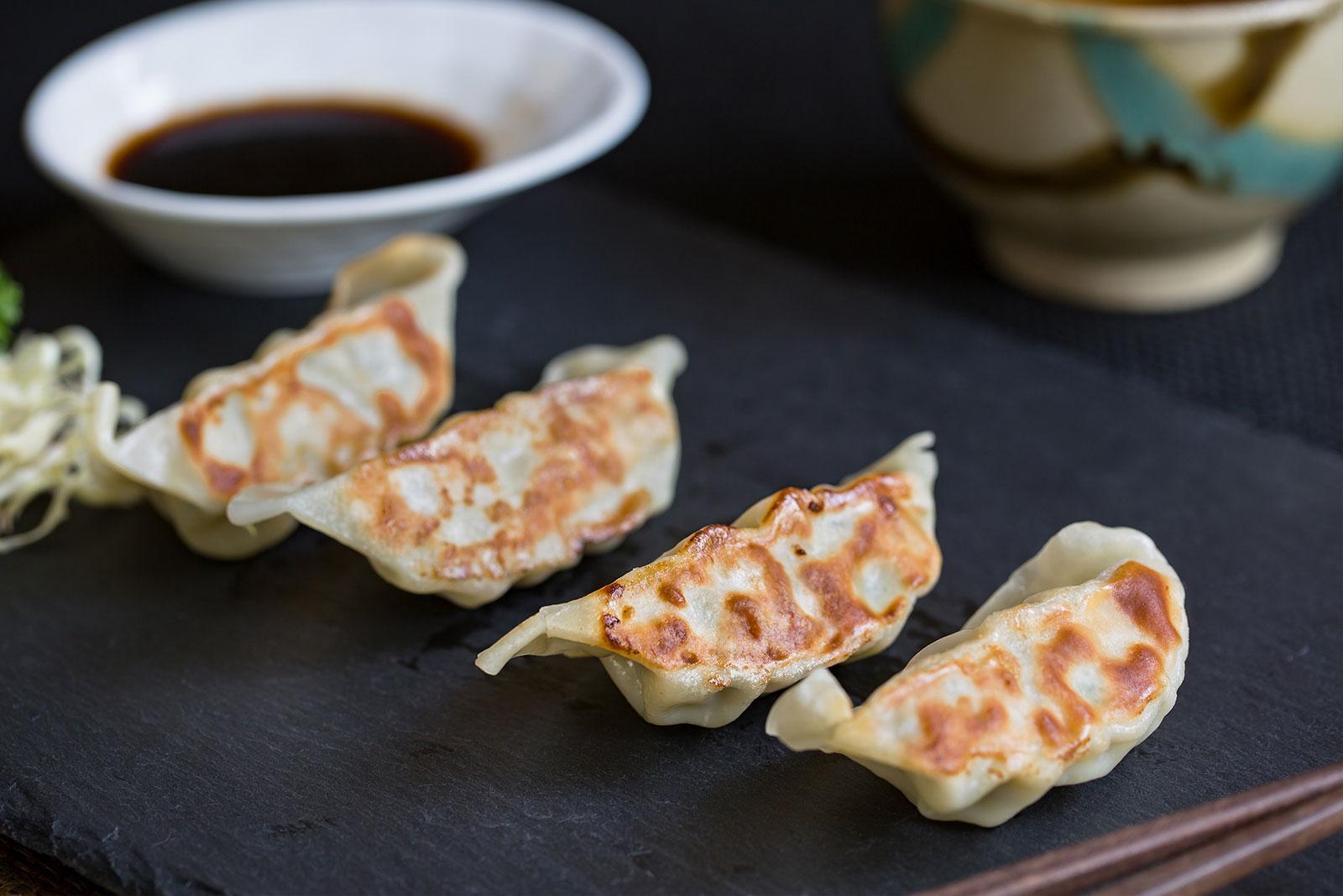 三文鱼煎饺