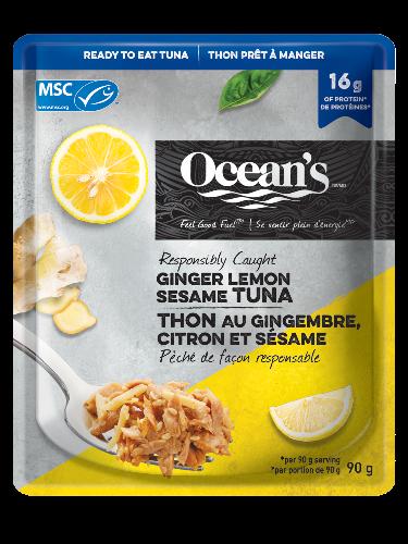 OCE 032 Tuna GingerLemonPouch MSC