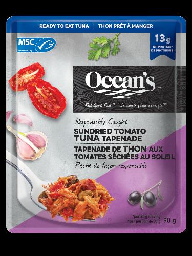 Sundried Tomato Tuna Tapenade Pouch