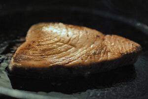 Pan Seared Yellowfin Tuna Steak