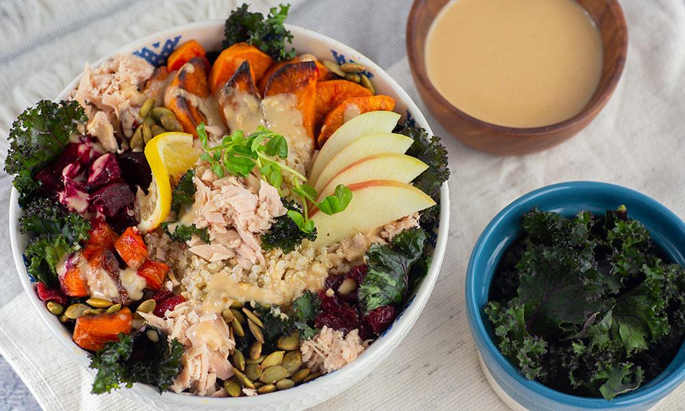 OC Harvest Tuna Bowl 1