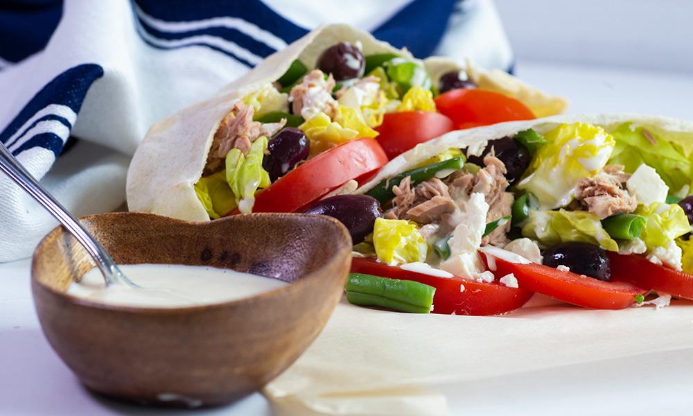 OC Tuna Salad in Pita Pockets 1