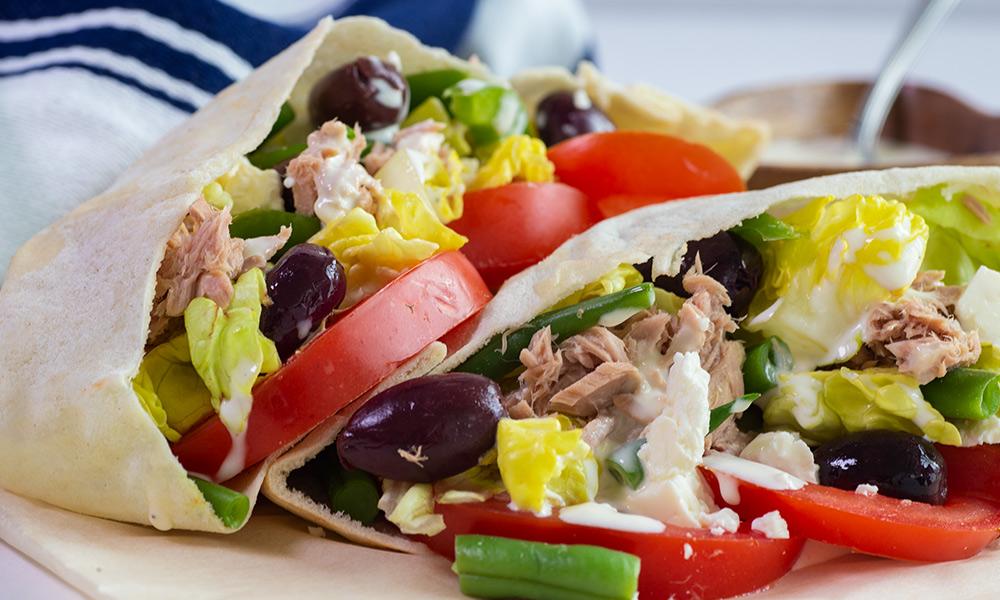 OC Tuna Salad in Pita Pockets 2