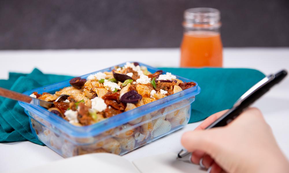 OC MealPrep Tuna Pasta Salad2