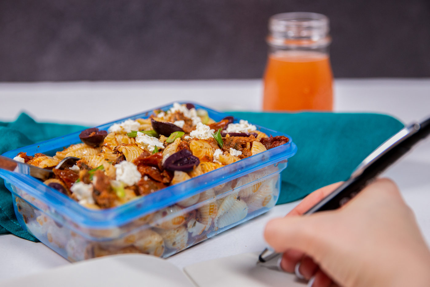 Easy Meal Prep Tuna Pasta Salad – High Protein & Kid Friendly!