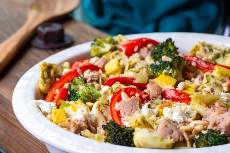 Veggie-Packed Tuna Casserole