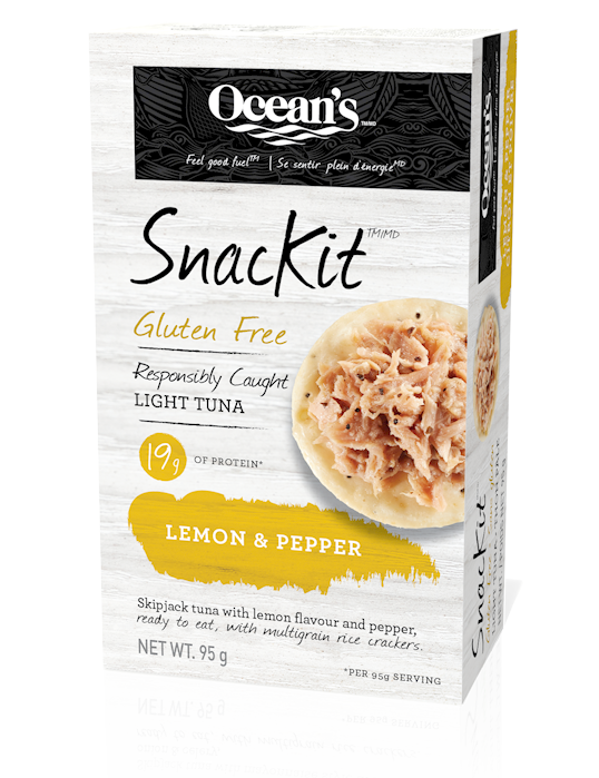 Lemon & Pepper Light Tuna SnacKit™