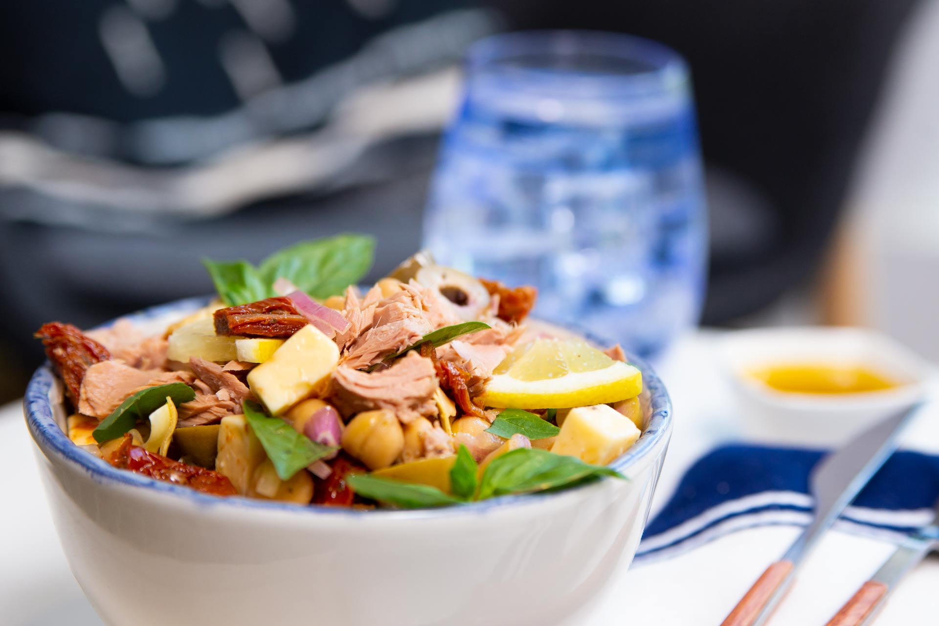 15 Minute Tuna Meal Prep Salad