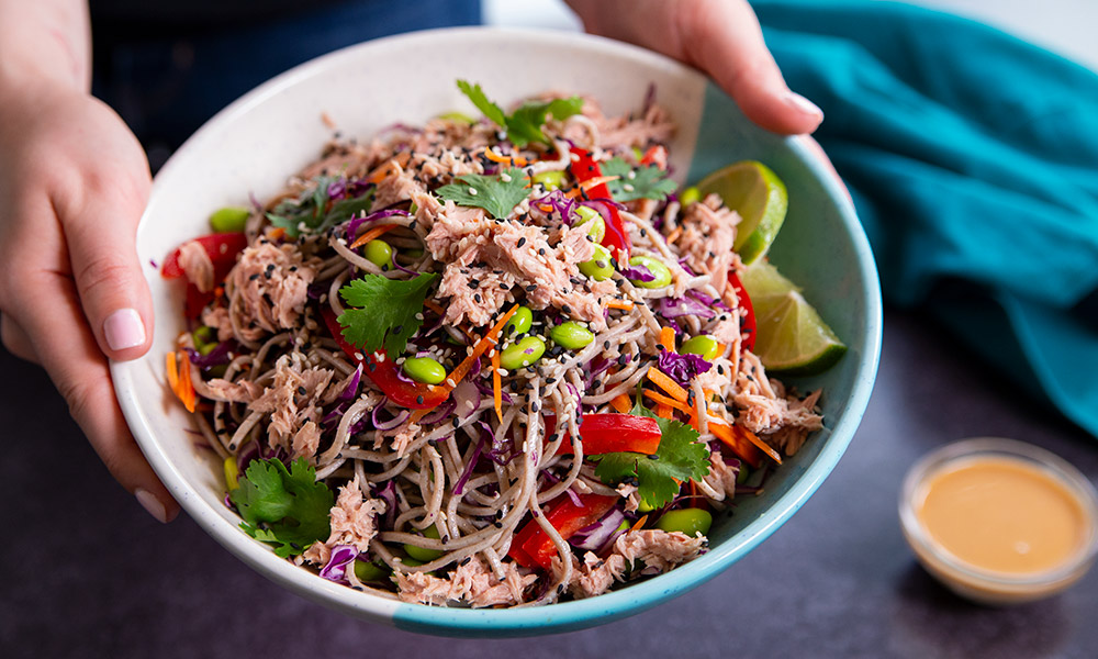 Oceans Asian Soba Noodle Tuna Salad 1