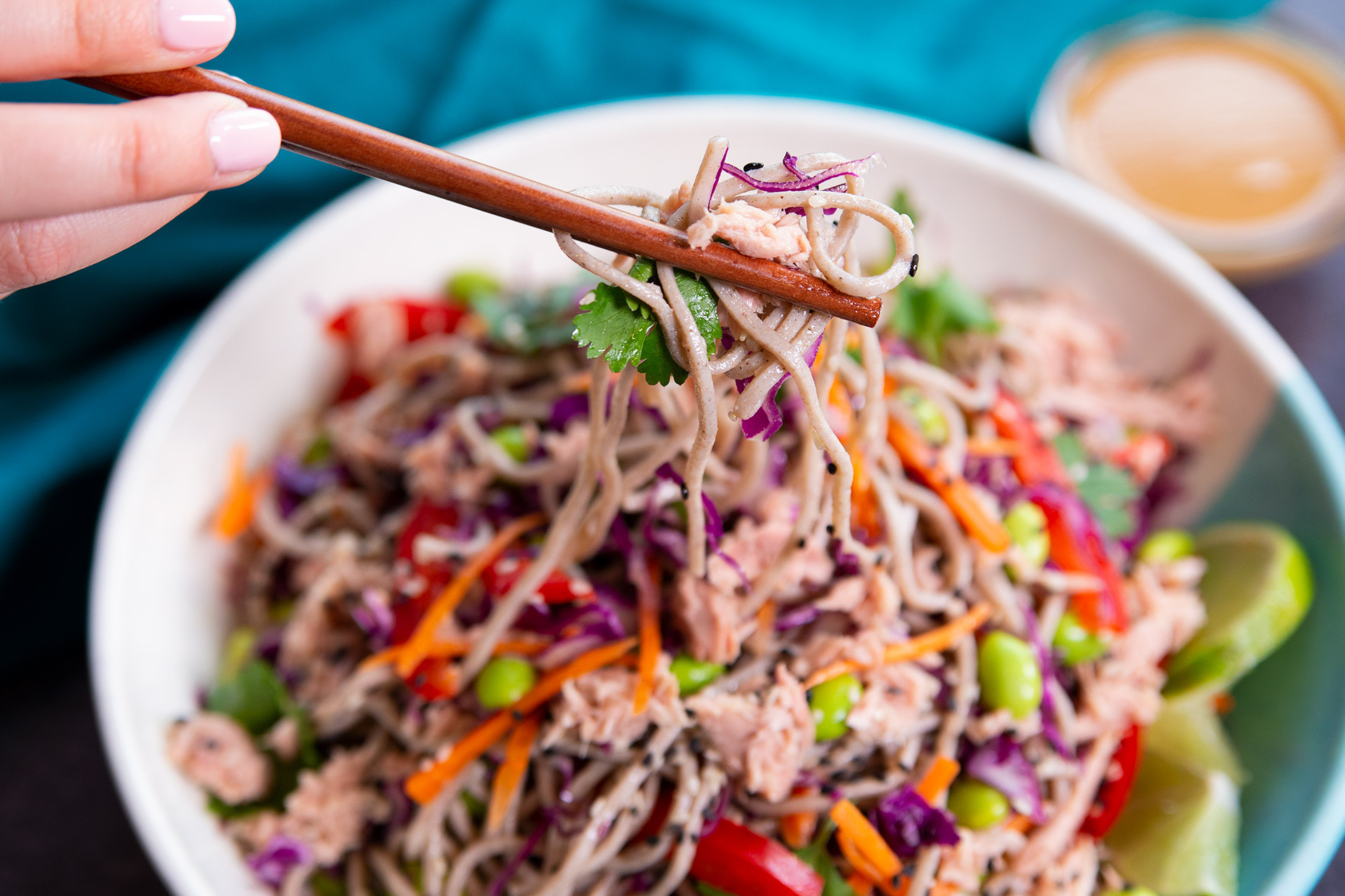 Asian Soba Noodle Tuna Salad