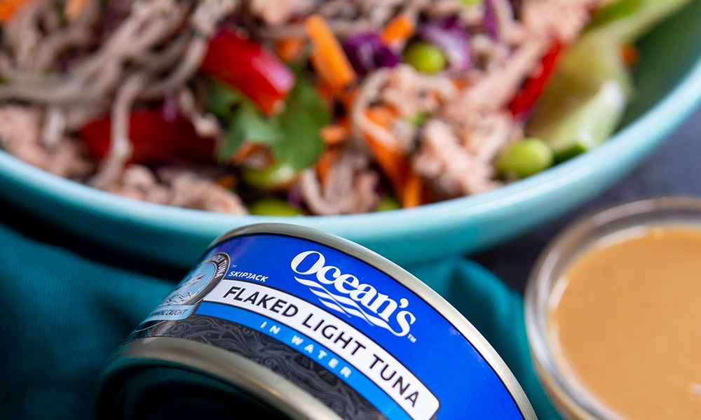 Oceans Asian Soba Noodle Tuna Salad 4