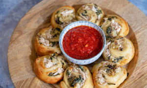 Oceans Authentica Baked Tuna Ricotta and Spinach Pinwheels 1