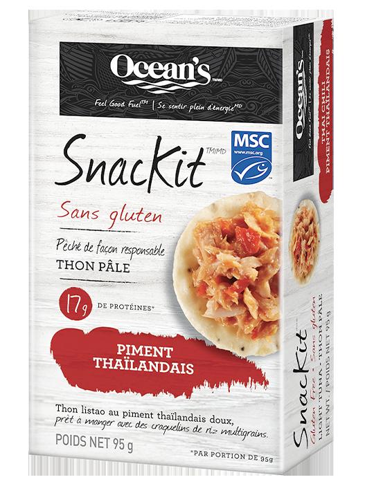 SnacKit MC thon pâle au Piment Thai