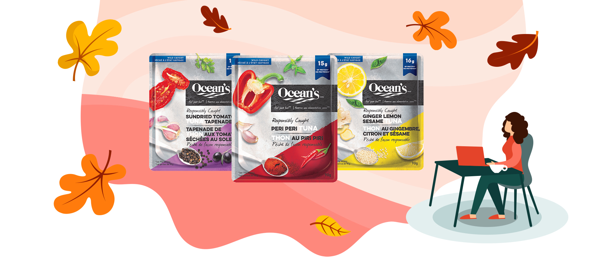 Explore Uncharted Flavours with Ocean's Tuna Pouches