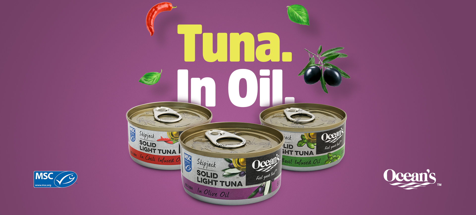 The Flavours of Tuna in Oil