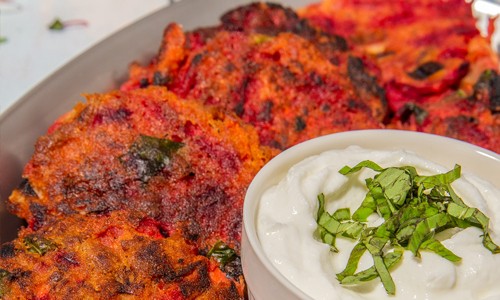 Oceans Tuna and Red Lentils Fritters with Spicy Yogurt 3
