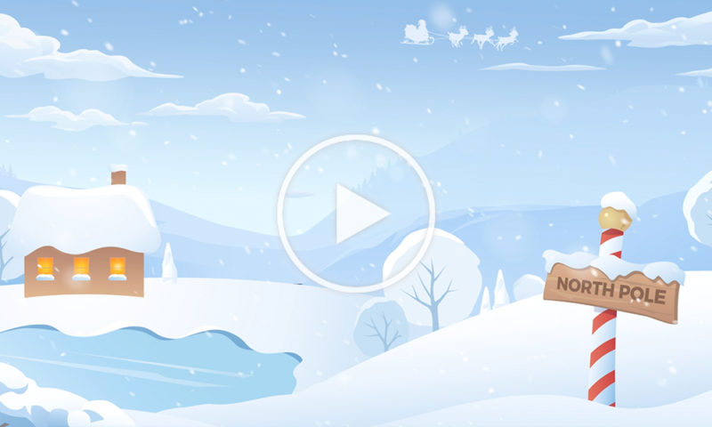Oceans Zoom Holiday BG animated