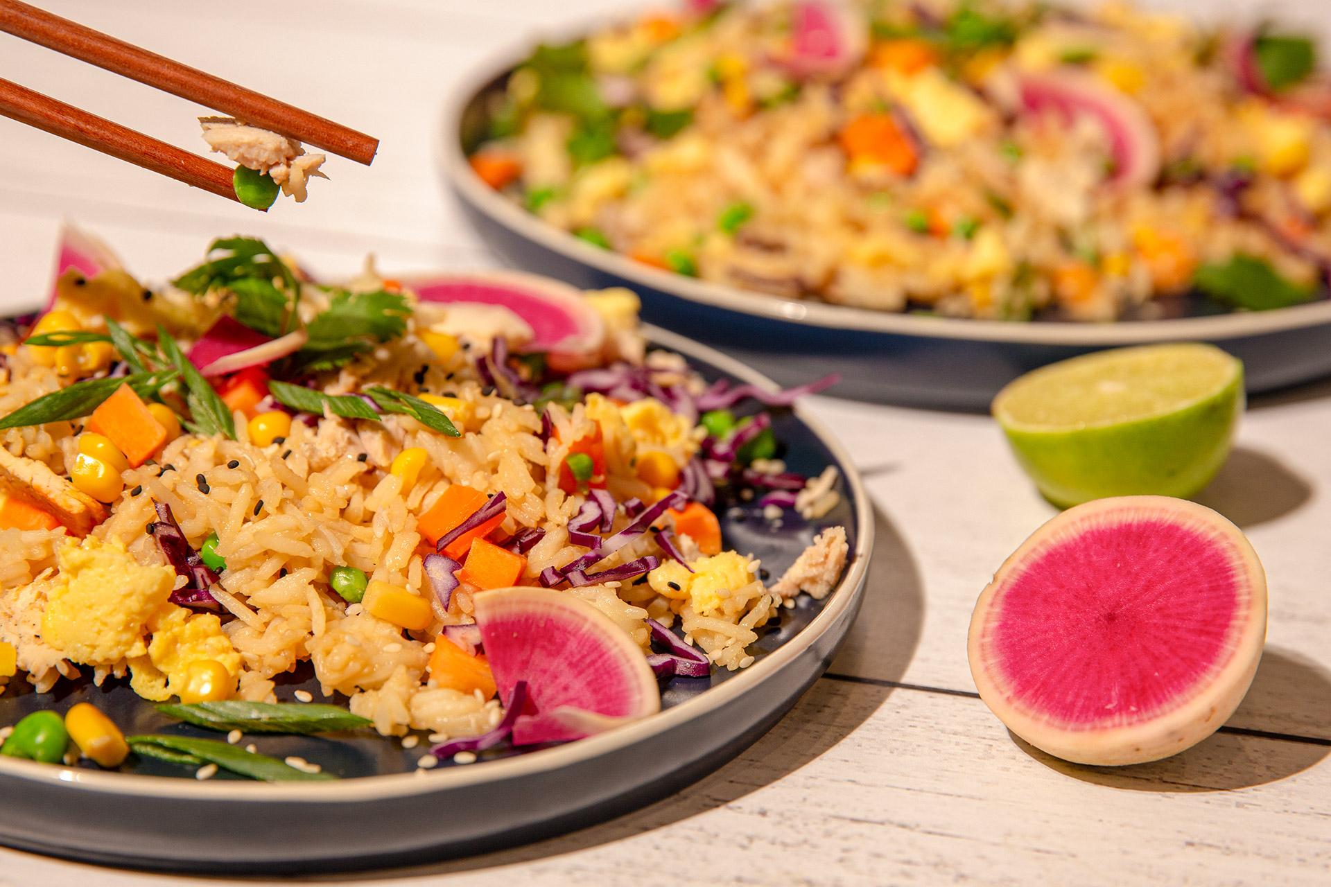 Tuna Fried Rice