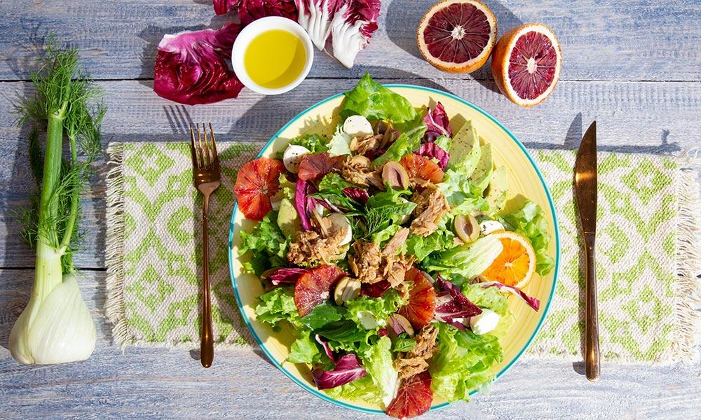 Oceans Lemon Pouch Salad 2V2