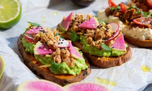 Oceans Tuna Pouches Sweet Potato Toast 3 Ways 1V2
