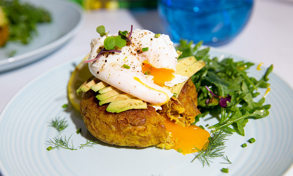 Oceans Tuna Muffins with Poached Egg 3V2
