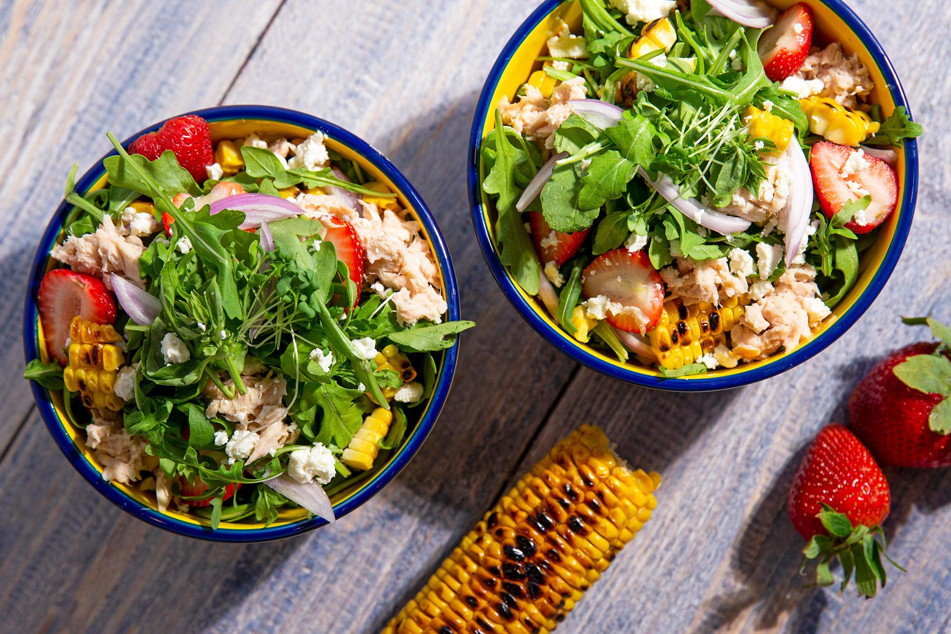 Grilled Corn Tuna Salad