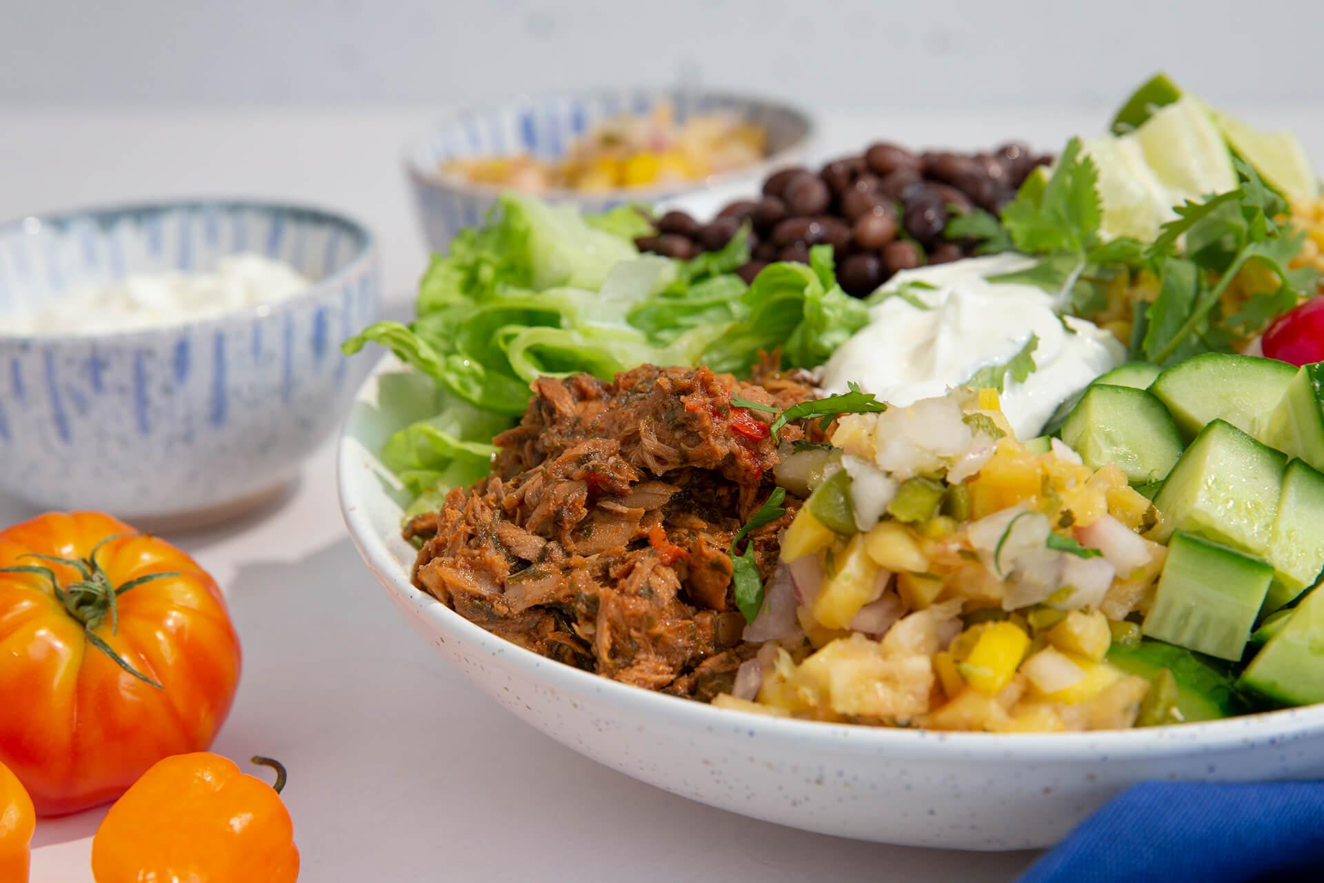 15 Minute Mexican Tuna Bowl