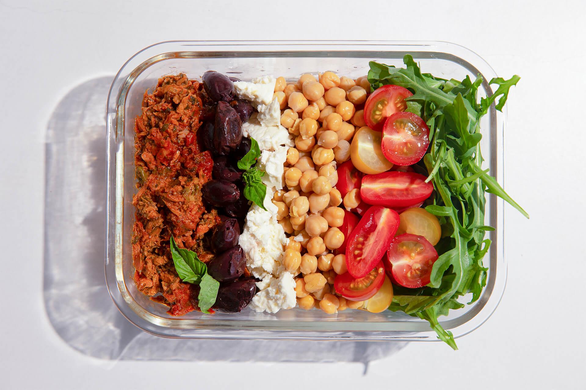 Mediterranean Lunch Box