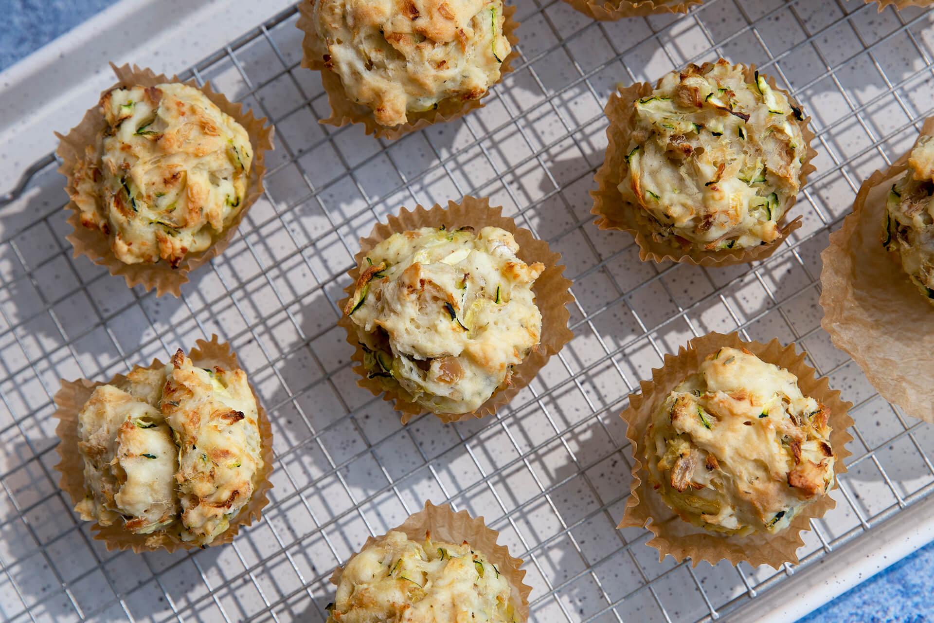 Zucchini Tuna Muffins